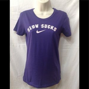 Women's size Small NIKE slim fit tee